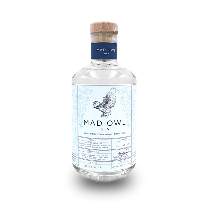 Mad Owl Gin - London Dry